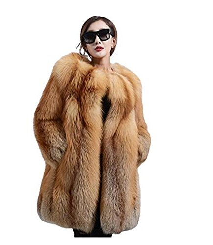 Natural Fox Fur Jacket - 8