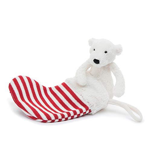 Jellycat Pax Polar Bear Stuffed Animal with Holiday ()