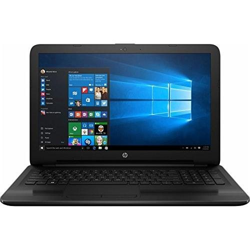 2017 HP 15.6' HD SVA BrightView WLED-backlit Laptop PC, Intel Core i5-7200U 2.5GHz, 8GB DDR4 Memory, 2TB HDD, DVD-Writer, WIFI, Webcam, Windows 10, Black