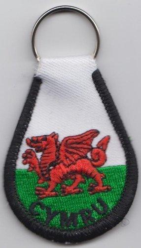 Cymru Dragon Portachiavi Welsh Wales A240 g4ntZqOx