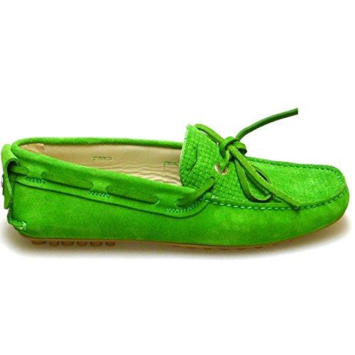 Voile Blanche Zapatos Hombre Mocasines Naúticos Renato Verde: Amazon.es: Zapatos y complementos