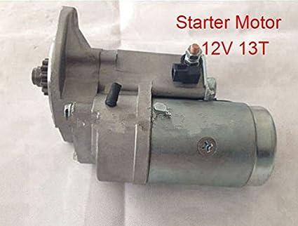 Amazon com: GOWE Starter Motor for China Engine Part Starter Motor