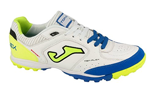 Joma Top Flex, Zapatos de Futsal Unisex Adulto Blanco (White)