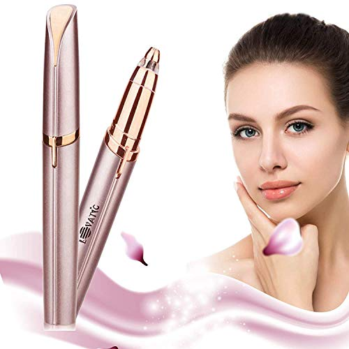 LOVATIC Eyebrow Hair Remover - Portable, Precise and Safe Eyebrow Shavers, Easy To Use - Instant and Painless Electric Eyebrow Trimmer, A Perfect Present For Women
