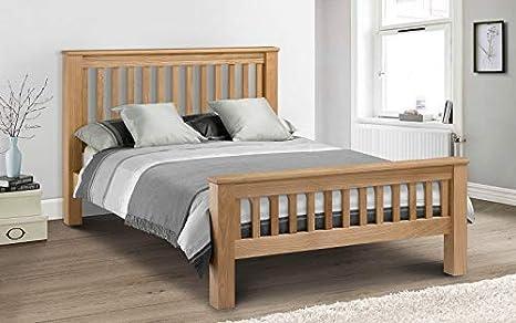 cheap for discount d25a5 2fbb6 Julian Bowen Amsterdam Oak King Size Bed