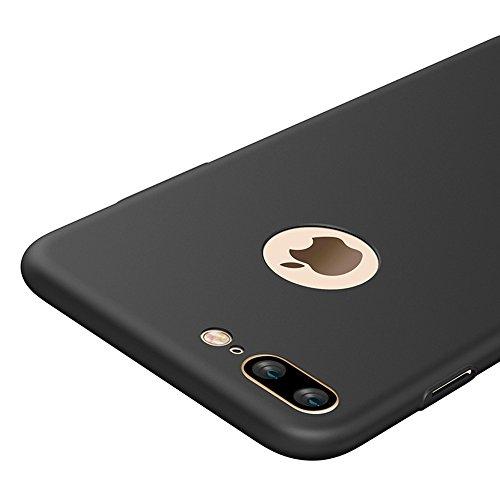 4d34beb0bf9 Negro Ultra-delgado Funda Case Cover y Protector de Pantalla Para Apple  iPhone 7 Plus 5.5 pulgadas Vooway® MS70196: Amazon.es: Electrónica