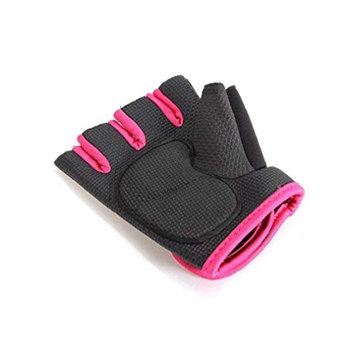 Boxing Gloves Muay Thai Training Maya Hide Rubber Sparring Punching Bag Mitts Kickboxing Fighting Pink and Black
