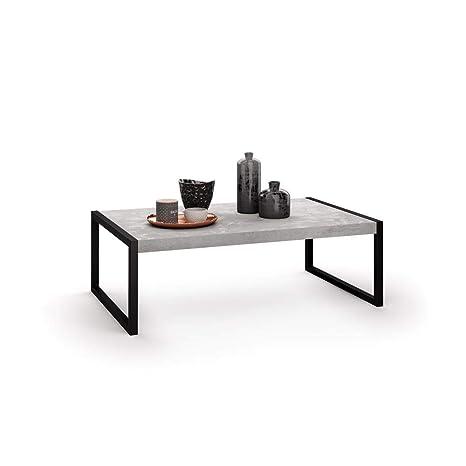 Mobili Fiver Coffee Table Grey Concrete 90 X 55 X 30 Cm