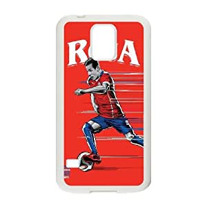 Samsung Galaxy S5 Cell Phone Case White_WorldCup Chile Dyzwk