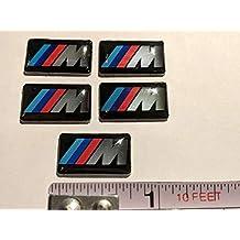 5 Pieces - M-Sport - BMW Badge Decal Emblem Car Sticker Sticker M Sport *** USA SELLER ***