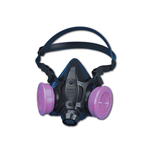 North Safety 770030L 7700 Series Silicone Half Mask Respirator Large (1 EA) Mask Only