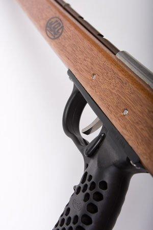 New JBL 53 Inch Sawed-Off Woody Magnum Mahogany Speargun (6W44) (AP-401) by JBL