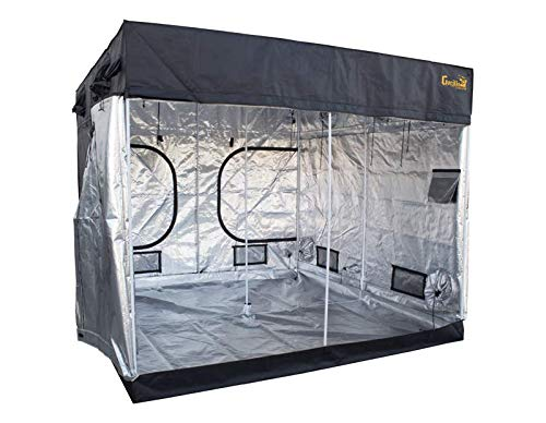 $584.00 indoor grow tent kit Gorilla Grow Tent LTGGT88 GGTLT88 Grow Tent, 8′ x 6'7″, Black 2019