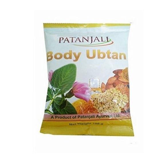 Siddhi Enterprises Patanjali Body Ubtan (100 gm) - Pack of 4