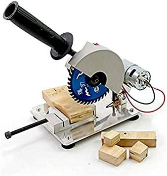 Amazon Com Wang Mini Table Saw Handmade Woodworking Bench Saw Diy Hobby Model Crafts Cutting Tool 45 Degree Adjustable Electric Saw Machine Sports Outdoors
