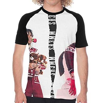 Summer Man Sports Baseball Short Sleeves T Shirts Raglan Sleeve T Shirts - Rae Sremmurd