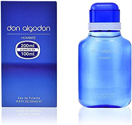 DON ALGODÓN Hombre Agua de Tocadora, 200 ml: Amazon.es: Belleza