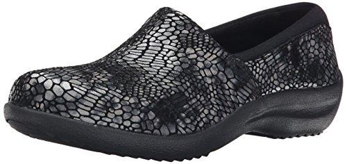 Skechers Women's Savor-Singular Slip-On Loafer Black/Multi