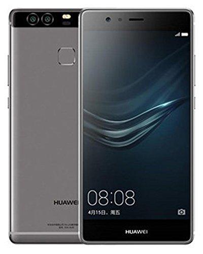 """סמארטפון Huawei P9 EVA-L19 32GB Titanium Grey, Dual Sim, 5.2"""", GSM Unlocked International Model"""