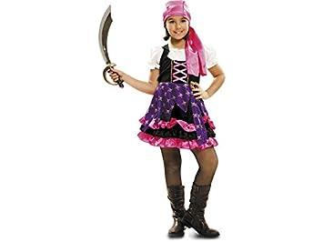 Disfraz Niña M Pirata Zingara: Amazon.es: Juguetes y juegos