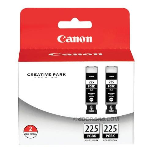 Canon PGI-225 4530B007 Twin Pack Value Pack-Black from Canon