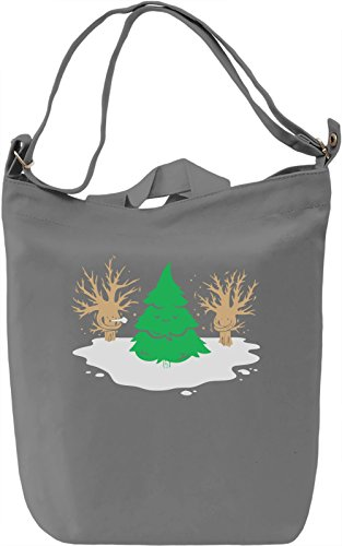 Toasty Evergreen Borsa Giornaliera Canvas Canvas Day Bag| 100% Premium Cotton Canvas| DTG Printing|
