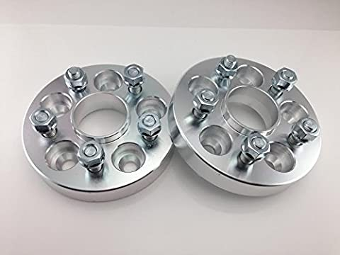 (2) 5x4.5 Hubcentric Wheel Spacers Mustang GT500 Shelby Cobra SVT GT 1 20MM (Gt 5 Wheel)