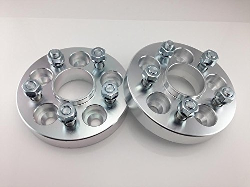 5x114.3 66.1cb 12x1.25 Studs 20mm Hub Centric Wheel Spacers for Infiniti G35, G37, Nissan 240sx 350z 370z 300zx