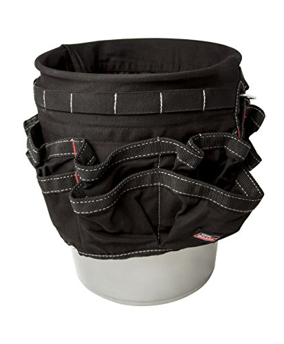 Dickies Work Gear 57062 Black 42-Compartment Bucket (Hip Alignment Belt)