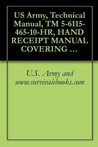 Review US Army, Technical Manual,