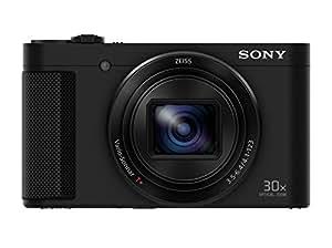 "Sony Cyber-Shot DSC-HX90 - Cámara compacta de 18.2 Mp (pantalla de 3"", zoom óptico 30x, sensor Exmor R,  visor OLED, pantalla para selfies, Wi-fi/NFC), negro con estabilizador de imagen"