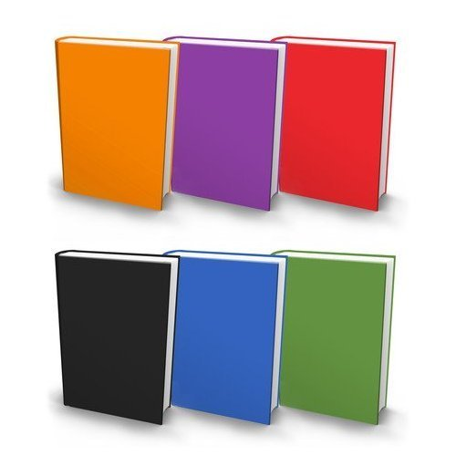 5 Pack of Jumbo Stretchable Book Cover - Solid Colors by Stretchables