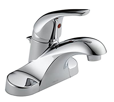 Delta Foundations 4 in. Centerset Single-Handle Pro-Pak Bathroom Faucet in Chrome (2-Pack)