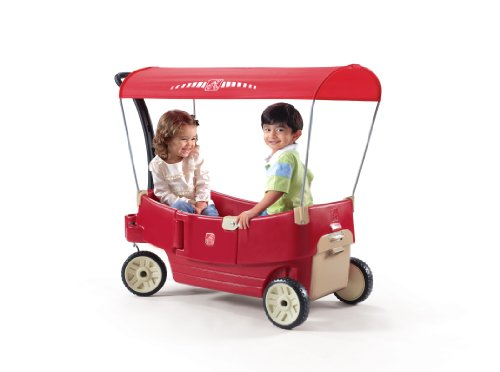 Sale!! Step2  All Around Canopy Wagon, Red