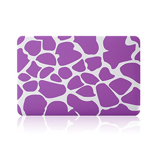 """MacBook Air 11"""" Case TECOOL® 3 in 1 Ultra Slim Multi Colors Plastic Hard Shell Cover, Silicone Keyboard Cover and Screen Protection for MacBook Air 11"""" with TECOOL® Logo Mouse Pad (MacBook Air 11"""" Model: A1370 and A1465, Purple Cow)"""