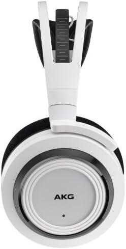 AKG K935 Cuffie Wireless, Compatibili con Dispositivi Apple iOS e Android, Bianco