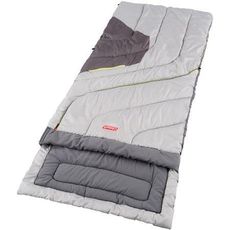 Coleman Adjustable Comfort 30- to 70-Degree Adult Sleeping Bag Polyester Ripstop Shell