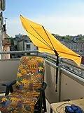 sonnensegel balkon verschattung klemm markise beschattung sonnenschutz ohne zu bohren. Black Bedroom Furniture Sets. Home Design Ideas