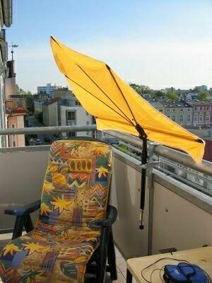 Neu Sonnenschirm Modell Holly Shadow Stabielo Balkon