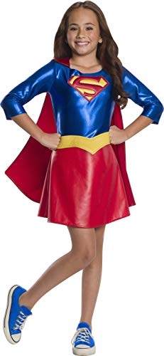 Super Creative Halloween Costumes (Rubie's DC Super Hero Girl's Deluxe Supergirl Costume Dress,)