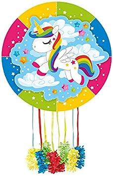 DISBACANAL Piñata Unicornio en Las Nubes: Amazon.es: Juguetes y juegos