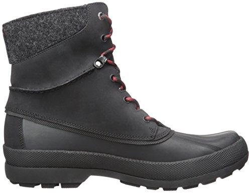 Sperry Cold Bay Boot W/Vibram, Botines para Hombre Negro - negro