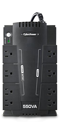 CyberPower CP550SLG Standby UPS System, 550VA/330W, 8 Outlets, Compact by CyberPower (Image #7)