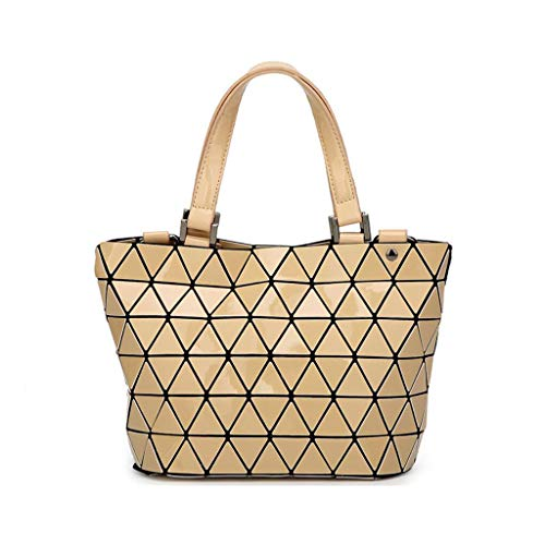 Lady Casual Messenger Simple da Pu Dxqi donna Bag Borsa Maniglie Beige 7wBz1
