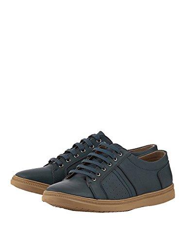 Sneakers Men in Size LEVON Blue 9 UK O1vTnqx4w