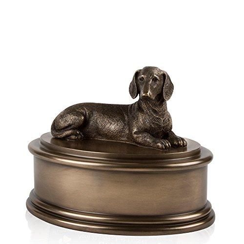 - Perfect Memorials Dachshund Figurine Cremation Urn