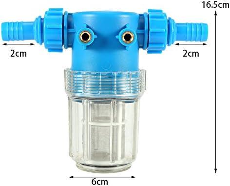 1 Filtro de Agua Universal de 20 mm para Manguera de Entrada y ...