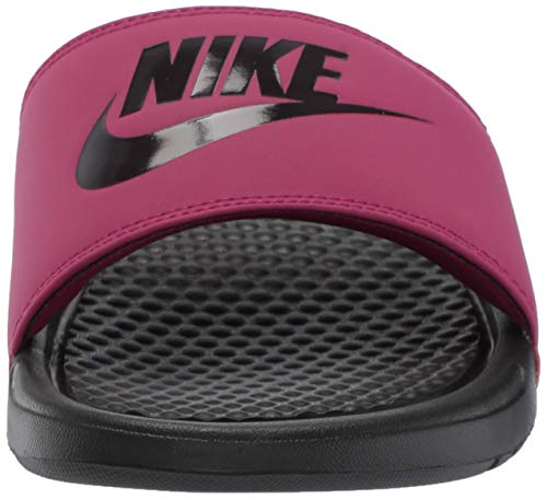 Nike Women's Benassi Just Do It Sandal, True Berry/Burgundy ash, 7 Regular US by Nike (Image #4)