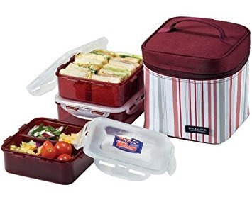 - 7 Piece Lunch Box Set Color: Gray