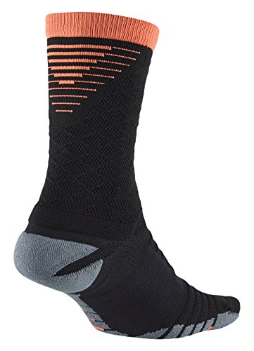 Nike Nike Strike Tiempo Crew Black/Hyper Orange/Hyper Orange Crew Cut Socks Shoes